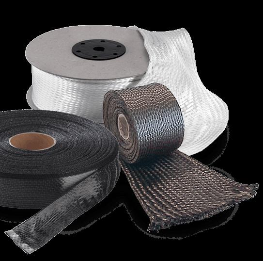 Carbon/Glass fibre braid